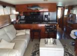 60 ft. Hatteras Yachts 60 Convertible Cruiser Boat Rental San Diego Image 16