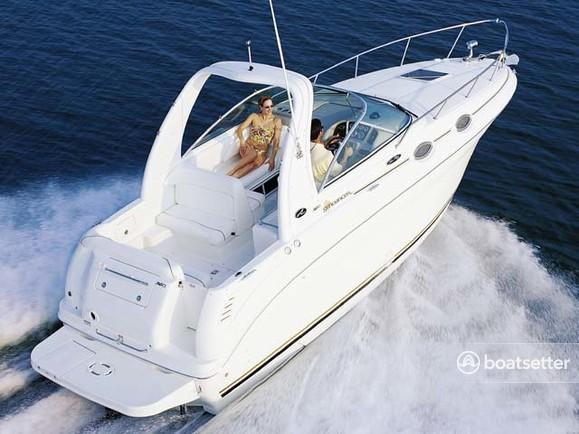 Rent a 2003 28 ft  Sea Ray Boats 260 Sundancer in Washington, DC on  Boatsetter