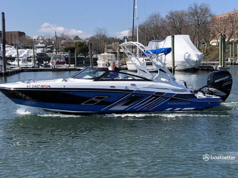 Rent a Monterey Boats bow rider in The Bronx, NY near me