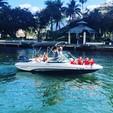 19 ft. Rinker Boats QX18 OB Bow Rider Boat Rental Miami Image 9