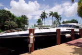 81 ft. Baia Panther 80 Express Cruiser Boat Rental Miami Image 1