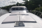 81 ft. Baia Panther 80 Express Cruiser Boat Rental Miami Image 3