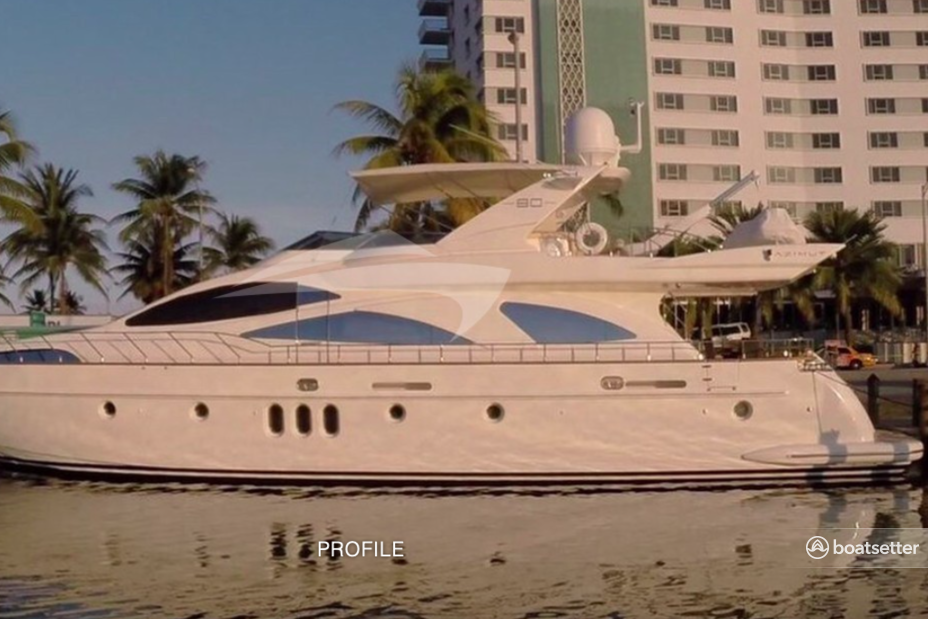 Rent a Azimut Yachts flybridge in Lighthouse Point, FL near me