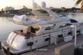 79 ft. Azimut Yachts 80 Carat Flybridge Boat Rental West Palm Beach  Image 2