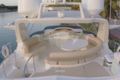 79 ft. Azimut Yachts 80 Carat Flybridge Boat Rental West Palm Beach  Image 7