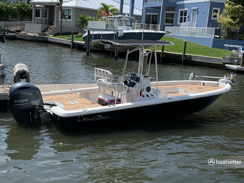 Rent a NauticStar Boats center console in Sarasota, FL near me