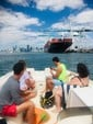 26 ft. Bayliner 2659 Rendezvous Bow Rider Boat Rental Miami Image 23