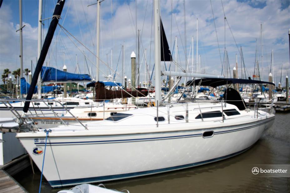 Rent a Catalina sloop in Kemah, TX near me