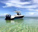 32 ft. Edgewater Powerboats 318 CC w/2-F250 Yamaha Center Console Boat Rental Miami Image 4