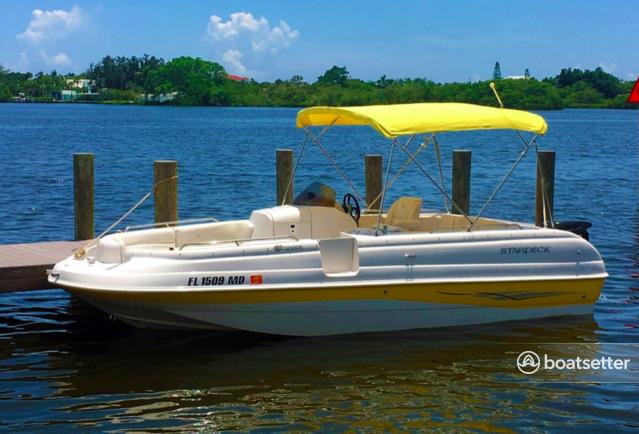 Rent a Starcraft Marine bow rider in Placida, FL near me