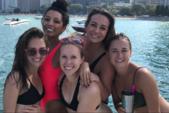 30 ft. Other pontoon Pontoon Boat Rental Chicago Image 9