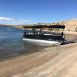 25 ft. South Bay Pontoons 524CR TT Tri-Tube Pontoon Boat Rental Rest of Southwest Image 1
