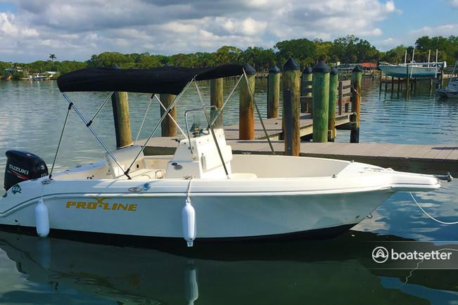 Rent a Pro-Line Boats center console in Placida, FL near me
