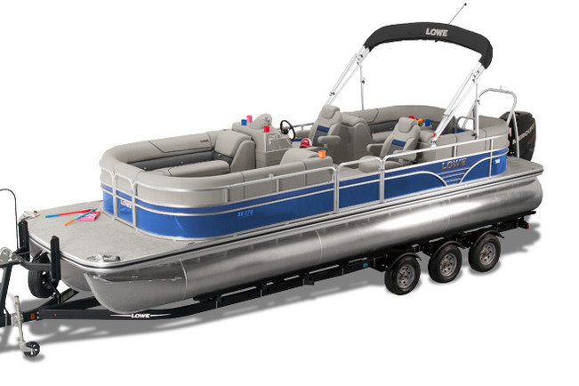 Rent a Lowe Tritoon pontoon in Lake Ozark, MO near me