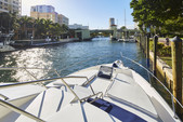 44 ft. Sea Ray Boats 440 Express Bridge Cruiser Boat Rental Miami Image 1