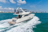 70 ft. Marquis Yachts 690 Motor Yacht Boat Rental Miami Image 1