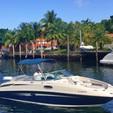27 ft. Sea Ray Boats 260 Sundeck Bow Rider Boat Rental Miami Image 2