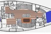 39 ft. Beneteau USA Oceanis 381 Sloop Boat Rental Los Angeles Image 3