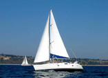 39 ft. Beneteau USA Oceanis 381 Sloop Boat Rental Los Angeles Image 3