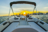 18 ft. Bayliner Element XL 4-S Mercury  Bow Rider Boat Rental Miami Image 6