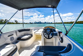 18 ft. Bayliner Element XL 4-S Mercury  Bow Rider Boat Rental Miami Image 8