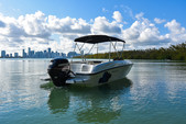 18 ft. Bayliner Element XL 4-S Mercury  Bow Rider Boat Rental Miami Image 7