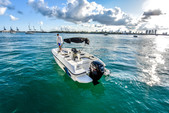 18 ft. Bayliner Element XL 4-S Mercury  Bow Rider Boat Rental Miami Image 11