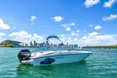 18 ft. Bayliner Element XL 4-S Mercury  Bow Rider Boat Rental Miami Image 2