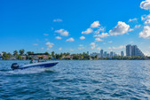 18 ft. Bayliner Element XL 4-S Mercury  Deck Boat Boat Rental Miami Image 2