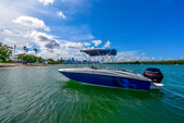 18 ft. Bayliner Element XL 4-S Mercury  Deck Boat Boat Rental Miami Image 3