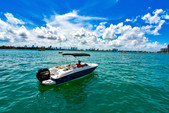 18 ft. Bayliner Element XL 4-S Mercury  Deck Boat Boat Rental Miami Image 6