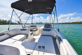18 ft. Bayliner Element XL 4-S Mercury  Deck Boat Boat Rental Miami Image 10