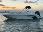 18 ft. Bayliner Element XL 4-S Mercury  Bow Rider Boat Rental Miami Image 1