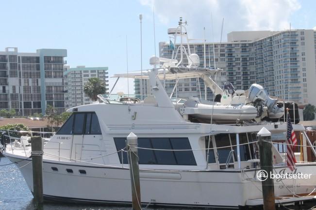 Rent a Bayliner motor yacht in Hallandale Beach, FL near me