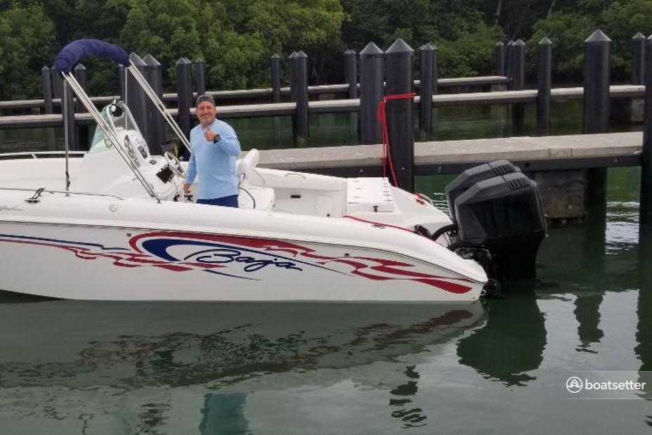 Rent a Baja Boats center console in Miami Beach, FL near me
