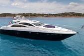 82 ft. Predator Yachts Sunseeker Cruiser Boat Rental Miami Image 3