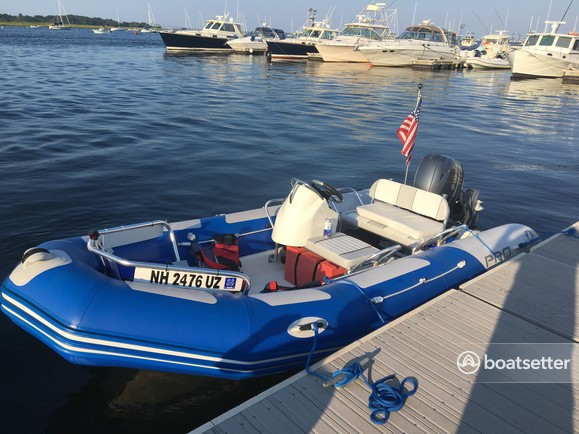 Rent a Zodiac of North America inflatable outboard in Newburyport, MA near me