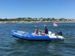 15 ft. Zodiac of North America Pro 9 Man Inflatable Outboard Boat Rental Boston Image 2