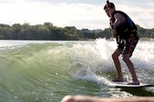 22 ft. Supra by Skiers Choice Launch 22 SSV W/Trailer Ski And Wakeboard Boat Rental Tampa Image 1