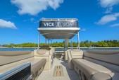 27 ft. Avalon Pontoons 25' Paradise Elite Pontoon Boat Rental Miami Image 4