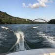 18 ft. Four Winns Boats 180 Horizon Bow Rider Boat Rental Austin Image 5