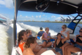 24 ft. Chaparral Boats 2430 Vortex Jet Boat Boat Rental Daytona Beach  Image 4