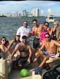 25 ft. Premier Marine 250 Majestic RT Pontoon Boat Rental Miami Image 3