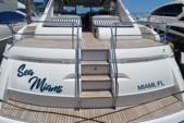 65 ft. princess V65 Express Cruiser Boat Rental Miami Image 13