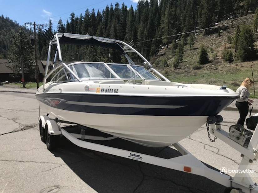 Rent a Bayliner bow rider in Tahoe City, CA near me