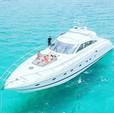 65 ft. princess V65 Express Cruiser Boat Rental Miami Image 12