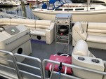 28 ft. Harris FloteBote 280 Heritage Pontoon Boat Rental Chicago Image 5