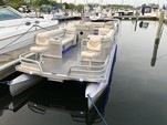 28 ft. Harris FloteBote 280 Heritage Pontoon Boat Rental Chicago Image 1