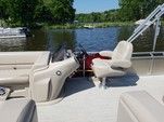 21 ft. Avalon Pontoons 22' LSZ Cruise (Burgundy) Pontoon Boat Rental Rest of Northeast Image 3