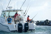 31 ft. Boston Whaler 315 Conquest w/2-300CXL DTS Verado Bass Boat Boat Rental New York Image 2